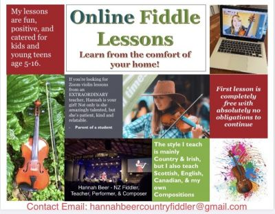 Online Fiddle Lessons!